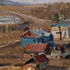 8 Борисенков Можайское 1955 23.5х33 к.м