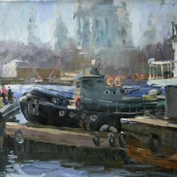 Адгамов на охте 1995