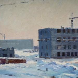 1 Коровин Город строится 1960