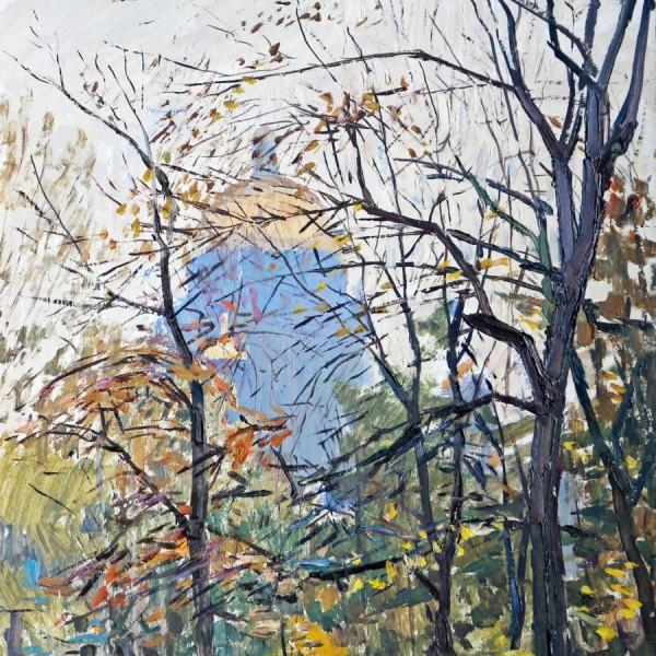 4 Коровин Осень у Исаакиевского 1998