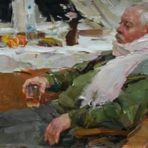 21 Теняев мужчина со стаканом