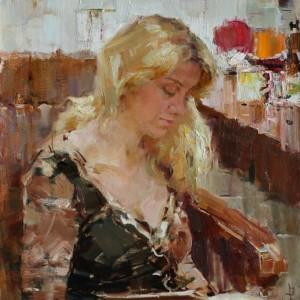 22 Теняев Женский портрет