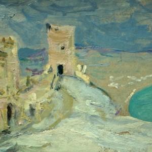 3 Татарников Крым. Генуэзская крепость