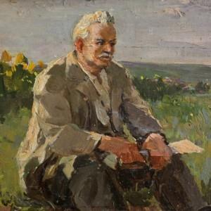 10 Ткачев ПортретписателяМШолохова1972