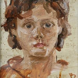 17 Чеботарь Портрет девочки