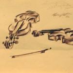 5 Чеботарь рисунок скрипки