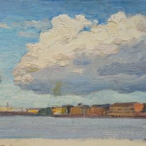 Константин Молтенинов Облако над Невой