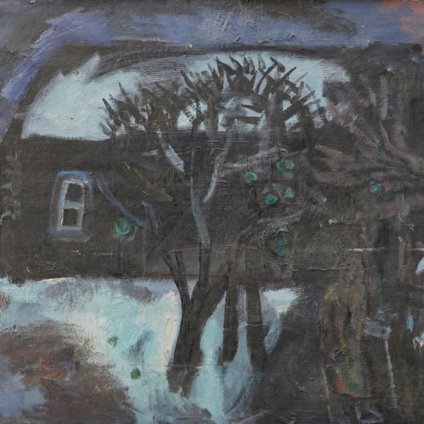 Виталий Тюленев Осенний сад. 1982
