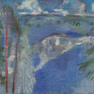Виталий Тюленев Синий день. 1977