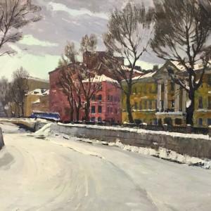 Зимний день 1965. Х., м. 70х100